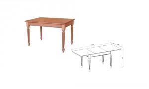 Стол прямоугольный «Ника»