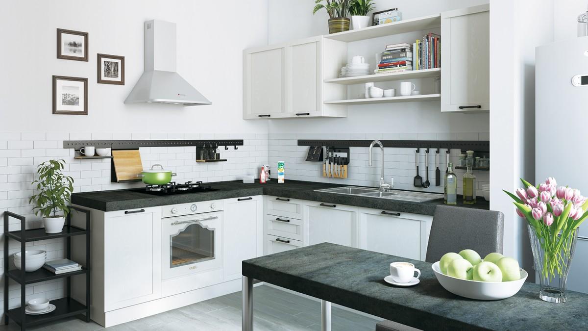 Кухня Портофино белая
