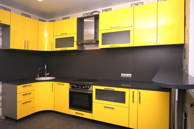 Цена на фасады для кухни из эмали