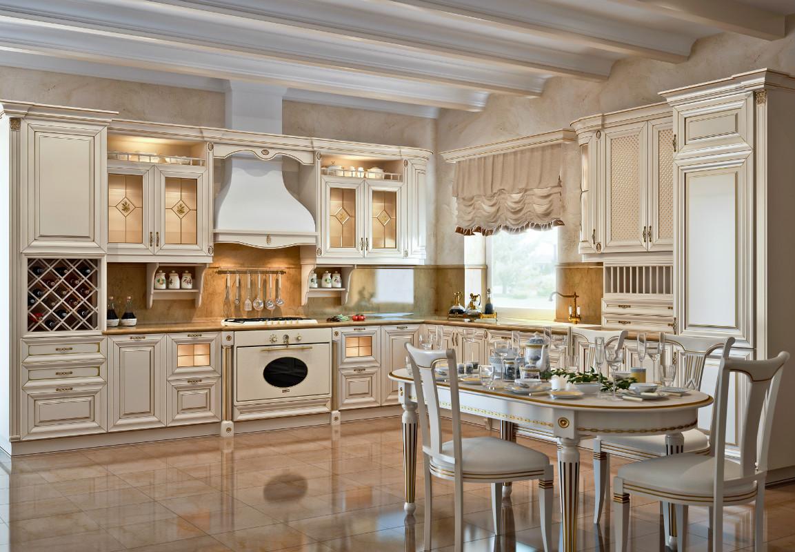 Итальянская кухня дизайна