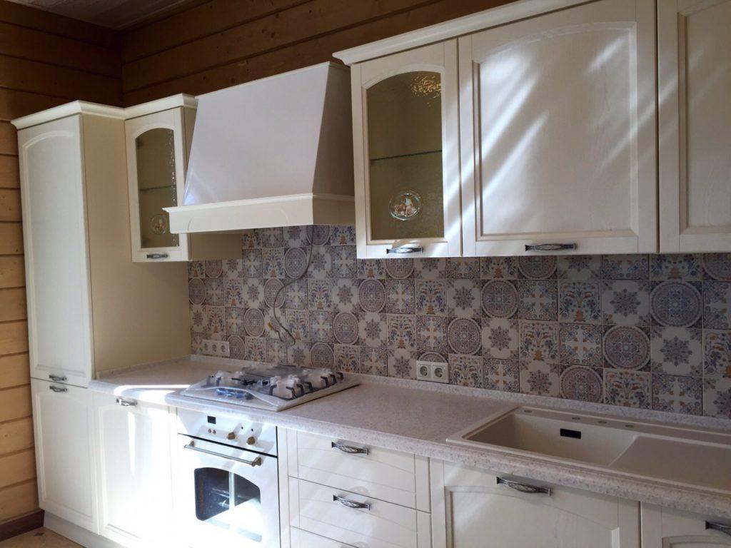 Кухня Амальфи бежевая